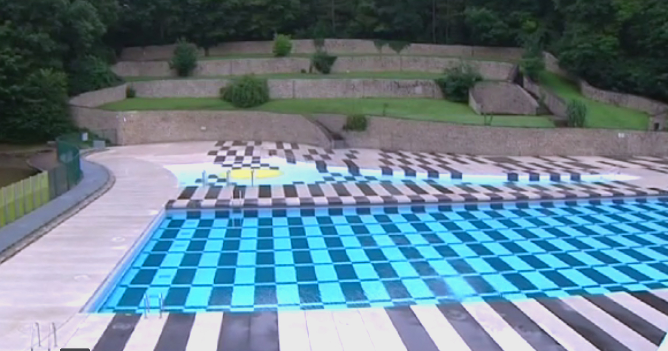 La piscine en plein air de Marcinelle ouverte ce week-end