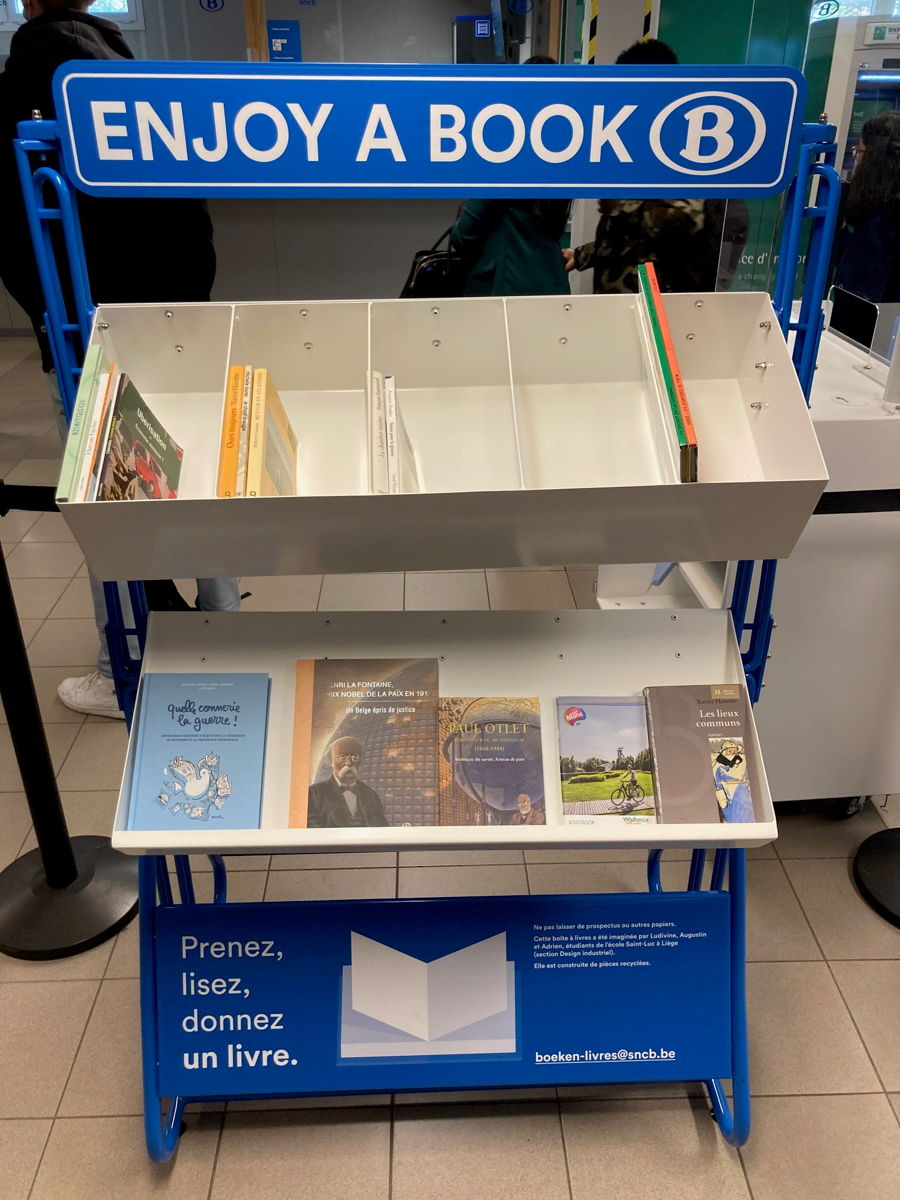 Boîte à livres Charleroi