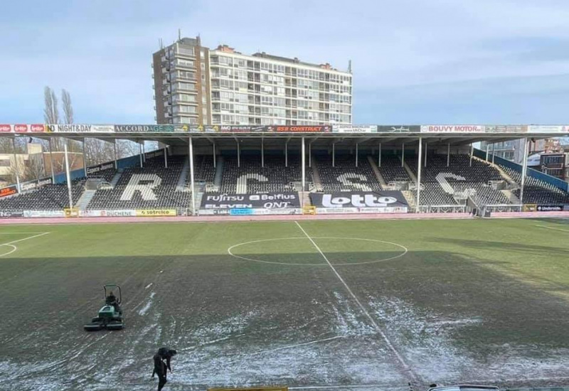 Sporting de Charleroi - Club de Bruges est remis